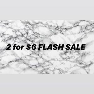⚡️2 for $6 FLASH SALE⚡️ (some exclusions)